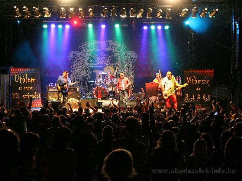 Képekben: Abádszalók - Beatrice koncert /2014.07.18./