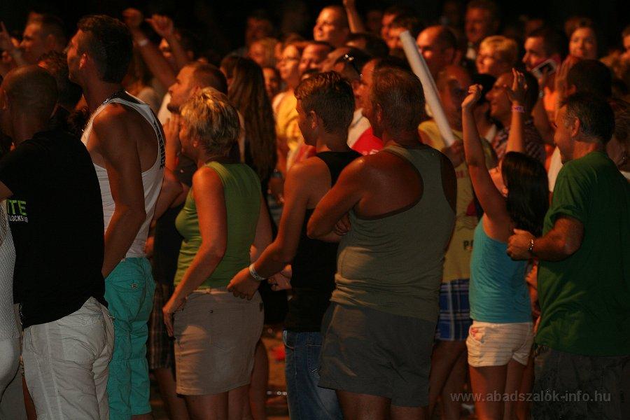 Képekben: Abádszalók Charlie fellépése - 2013.08.09