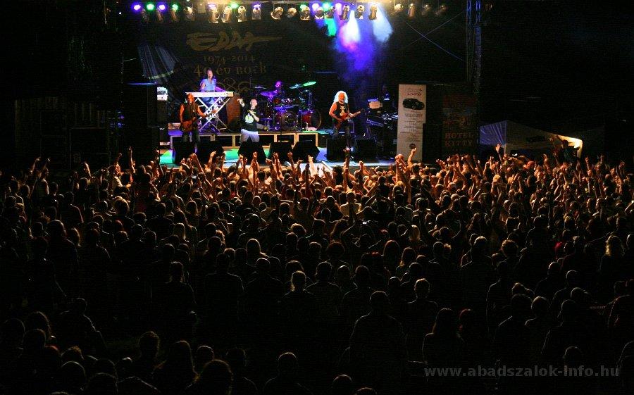 Képekben: Abádszalók - EDDA koncert /2014.07.19./