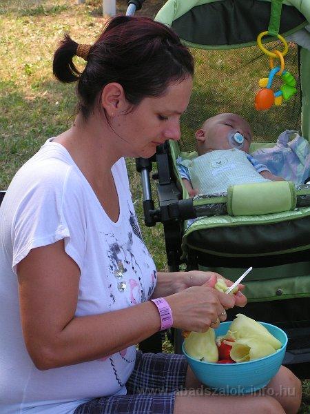 Képekben: Abádszalók, Halételek fesztiválja (2013.08.10.)