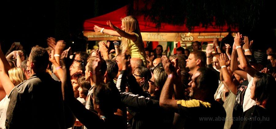 Képekben: Abádszalók, Lord koncert (2013.08.16.)
