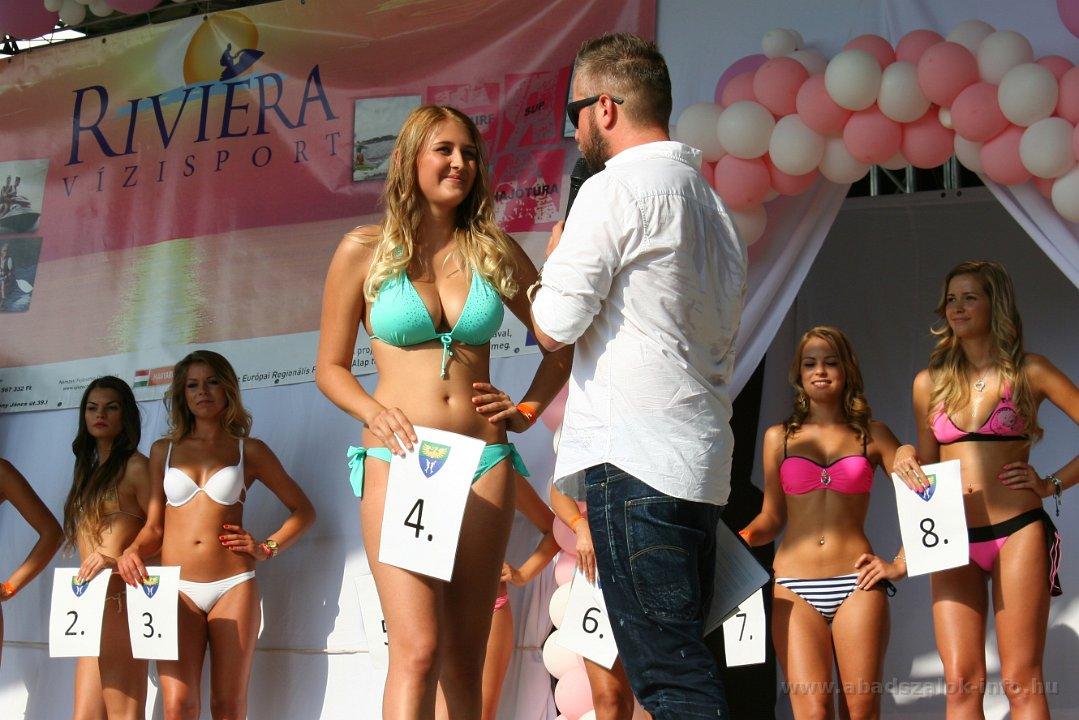Képekben: Abádszalók - XXV. Tisza-tó Szépe Szépségverseny (2014.07.26.)