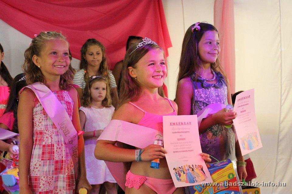 Tisza-tó szépe gyermekszépségverseny - 2017.08.12