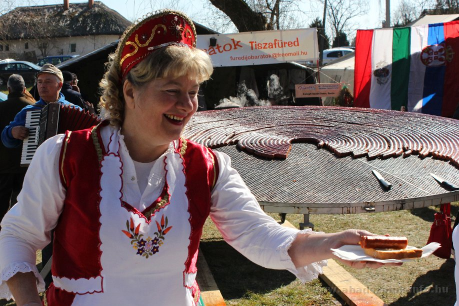 Képekben: Abádszalók, Tiszator 2015.03.07.