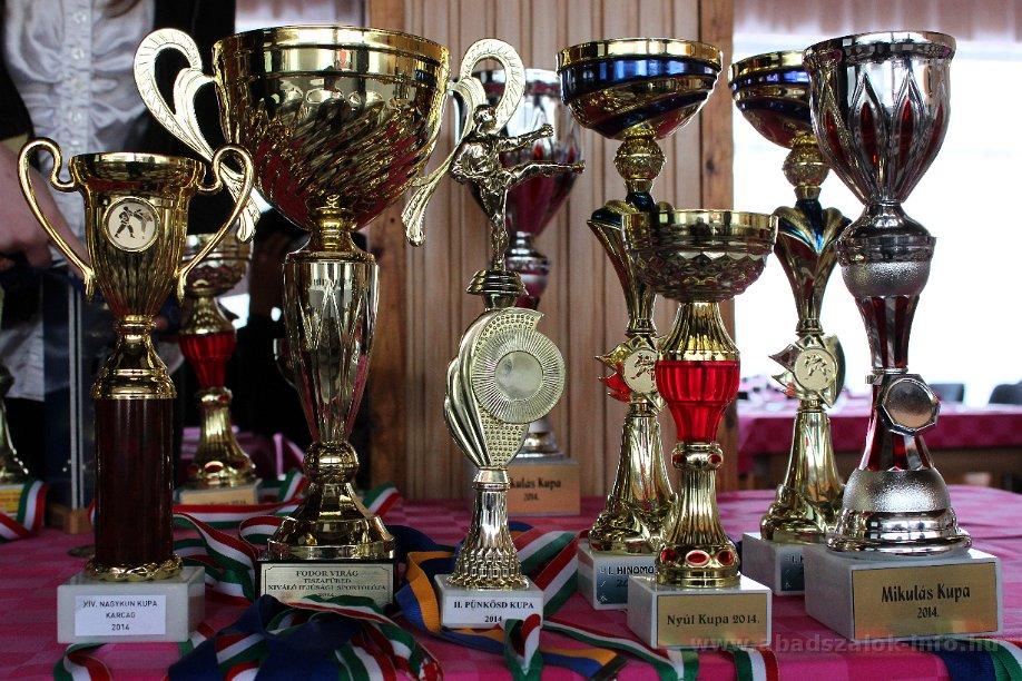 Abádszalókon került megrendezésre a  Kyokushin Karate szakosztály  2014. évi évzáró taggyűlése.